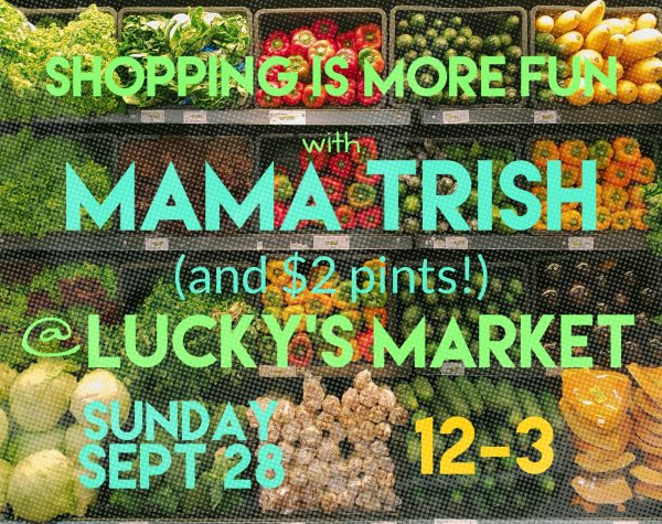 Grocery Shop with Mama @ Lucky's Market
